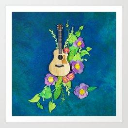 If Music Be... Art Print