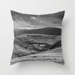 Elan Valley Throw Pillow