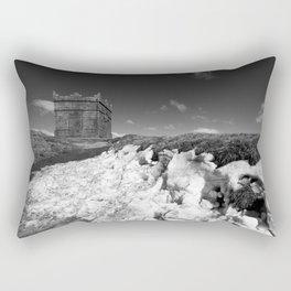 British Folly on the Hill Rectangular Pillow