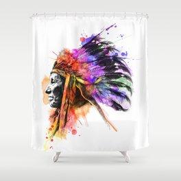 Harmony Apache Shower Curtain