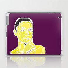 yellow face Laptop & iPad Skin