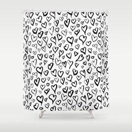 Heartful Shower Curtain