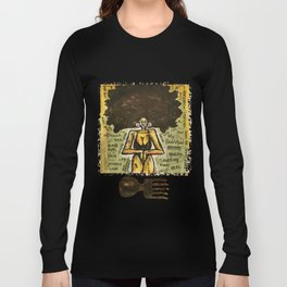 2014 Black Girl Yo Hair Is A Revolution art by Marcellous Lovelace Long Sleeve T-shirt