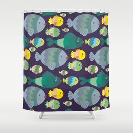 Fish pattern Shower Curtain