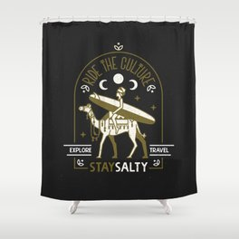 Taghazout Shower Curtain