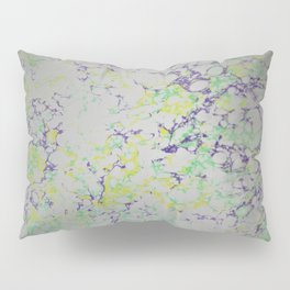 Easter Composition Water Marbling Pillow Sham