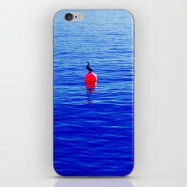 Bouy Blue Bird iPhone Skin