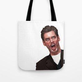 Jim Carrey Tote Bag