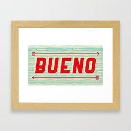 Bueno Framed Art Print