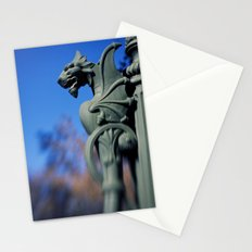 A Dragon Lamp Post. Stationery Cards