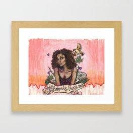 Untamed & Unashamed Framed Art Print