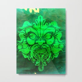 Green Man Metal Print
