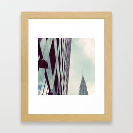 Chrysler Building New York Framed Art Print