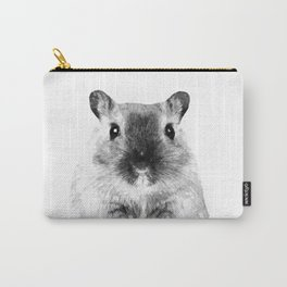 Black and White Hamster Carry-All Pouch