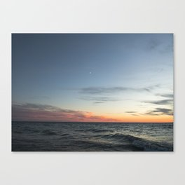 Lake Michigan Sunset Canvas Print
