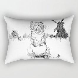 Puss in Boots Rectangular Pillow