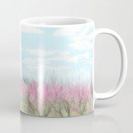 Peach Farm Digital Painting Coffee Mug