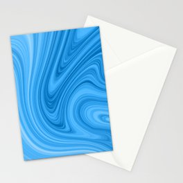 Blue Marbled Agate Stationery Cards