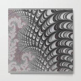 interior wall ART, design by ALICE, 3d fractals Metal Print