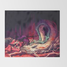 Bleed Throw Blanket