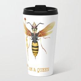I am a Queen Travel Mug