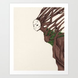 Personal Demon: Claustrophobia Art Print