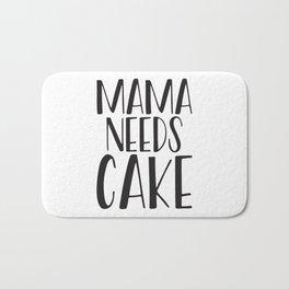 Mama Needs Cake Bath Mat