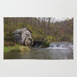 Rural Wisconsin - Hyde's Mill Rug