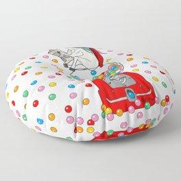 Unicorn POOP Gumballs Floor Pillow