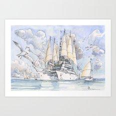 La Citta' Nave Art Print