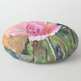Rose Garden  Floor Pillow