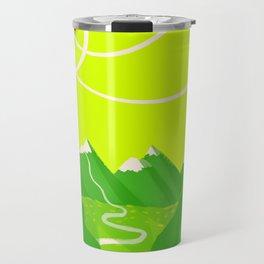 Minimalist Mountains Travel Mug