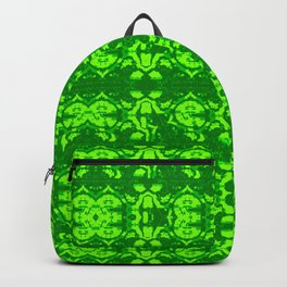 2107 Pattern as sprouted green Backpack