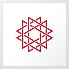 #382 Thorns – Geometry Daily Art Print