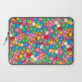 Bubble Gum Balls Juicy Tropical Fruity Laptop Sleeve