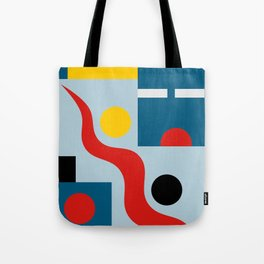 SWIMMERS IN WEIMAR Tote Bag