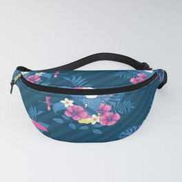 Tropical Flora and Fauna Fanny Pack