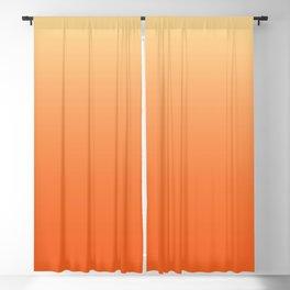 Orange Ombre Blackout Curtain