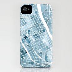 Map Nashville Tennessee Blueprint City Map iPhone (4, 4s) Slim Case
