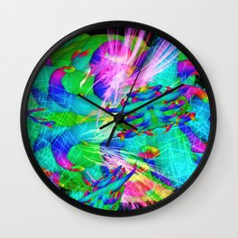 Worm Tumor Colony Wall Clock