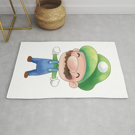 Green plumber Plumber's Collection Rug