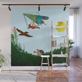 Fly together Wall Mural