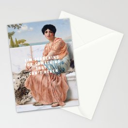 John William Godward, In the Days of Sappho (1904) / Halsey, Ghost (2014) Stationery Cards