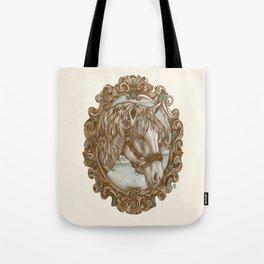 Ornate Horse Portrait Tote Bag