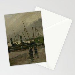 The De Ruijterkade in Amsterdam Stationery Cards