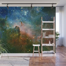 Hidden Secrets of Carina Nebula Wall Mural