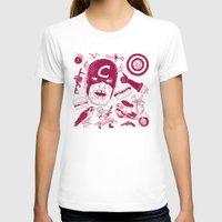 superheros T-shirts featuring Craptain America by Josh Ln