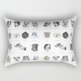 Dog poster Rectangular Pillow