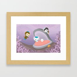 The Octonauts Pearl Rescue Framed Art Print
