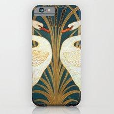 Walter Crane Swan, Rush And Iris Slim Case iPhone 6s